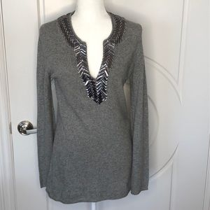 Tory Burch cashmere and wool tunic